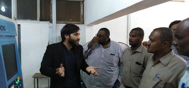 زيارة وفد الإدارة التنفيذية ودائرة الإنتاج الصناعى بمؤسسة السودان الى شركة النيل الأبيض ومصنع ساريا  للصناعات الجلدية المحدودة